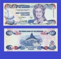 Bahamas  100  Dollars1996  -- Copy - Copy- Replica - REPRODUCTIONS - Bahamas