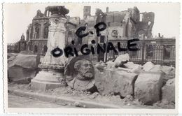 Carte Photo - LE HAVRE - 76 - Hôtel De Ville Après Bombardements De 1944 - Zonder Classificatie