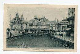 BELGIQUE- Carte Postale De 1923 De OSTENDE Avec Deux Timbres Y&t N°140 - Oostende