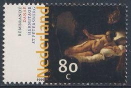 "Nederland Netherlands Pays Bas 1999 Mi 1729 SG 1955 ** ""Danae"" Painting / Gemälde By Rembrandt (1606-1669) - Rembrandt"