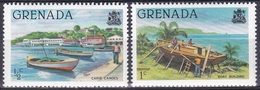 Grenada 1980 Transport Verkehr Schiffe Ships Boote Boats Kanu Canoe, Mi. 1047-8 ** - Grenada (1974-...)