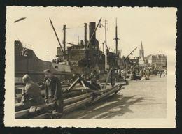 Saint-Malo : Photo Du Port En 1941 / Présence De Soldats Allemands / Guerre 39-45 - Saint Malo