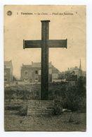 BELGIQUE- Carte Postale De 1921 De TAMINES Avec Trois Timbres Y&t N°137 + Taxe France Y&T N°33 - Autres