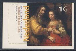 "Nederland Netherlands Pays Bas 1999 Mi 1730 ** ""Jewish Bride"" / ""Judenbraut"" / Joods Bruidje By Rembrandt (1606-1669) - Rembrandt"