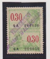 BELGIQUE    Y.T. N° Fiscaux  Oblitéré - Revenue Stamps