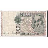 Billet, Italie, 1000 Lire, 1982, 1982-01-06, KM:109a, TTB+ - [ 2] 1946-… : République