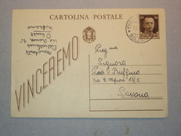 ITALIA SECONDA GUERRA COMUNICAZIONE CATTURA PRIGIONIERO ITALIANO DEI TEDESCHI CHIUSAFORTE BOLZANO 1943 - Vecchi Documenti