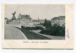 BELGIQUE- Carte Postale De 1905 De IXELLES (Rond Point Les Lutteurs) Avec Timbre Y&T N°83 + Taxe France Y&T N°29 - Non Classés
