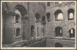 Rochester Castle, Kent, C.1930s - Photochrom Postcard - Rochester