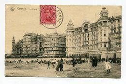 BELGIQUE- Carte Postale De 1931 De OSTENDE (La Digue) Avec Timbre Y&T N°138 - Oostende