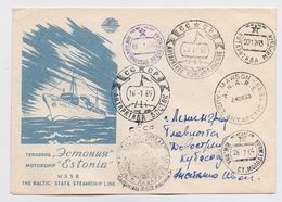 ANTARCTIC Vostok Station 10 SAE Base Pole Mail Cover USSR RUSSIA Komsomolskaya Molodezhnaya Mirny RARE - Research Stations