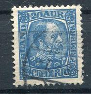 Island  König Christian IX.   Mi. 41  O/used   Siehe Bilder - Gebruikt