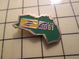 PIN616B Pin's Pins / Rare Et Beau : LA POSTE FRANCE TELECOM / CAS 61 ORNE - Mail Services