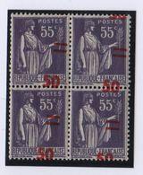 Type Paix - N°478 - Surcharge Très Décalée ** - 1932-39 Paz
