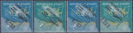 Haiti 1962 Weltraum Weltall Kosmos Raumfahrt Space Astronauten Astronauts John Glenn, Mi. 693-6 ** - Haiti