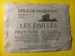 8099 -  Dôle De Salquenen Pinot Noir Les Dailles Suisse - Etiquettes