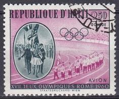 Haiti 1960 Sport Spiele Olympia Olympics Rom Parade Athleten Melbourne Athen, Mi. 635 Gest. - Haiti