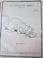 Les Animaux De Gibbs  Le Chat  La Serie Des Chats Cats Cat  Katze Benjamin Rabier Jacques Nam - Otros