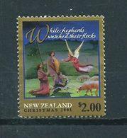 2001 New Zealand $2.00 Christmas,kerst,noël,weihnachten Used/gebruikt/oblitere - Nieuw-Zeeland