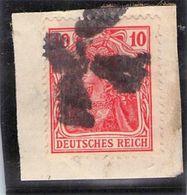 Stummer Stempel Feldpostpäckchen Deutsches Reich - Deutschland