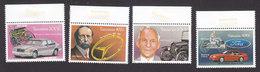 Tanzania, Scott #1099-1102, Mint Never Hinged, Cars, Issued 1994 - Tanzanie (1964-...)
