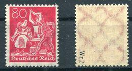 Deutsches Reich Michel-Nr. 186 Postfrisch - Geprüft - Alemania