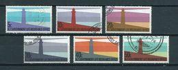 1981 New Zealand Complete Set Vuurtorens,leuchttürme,lighthouses Used/gebruikt/oblitere - Nieuw-Zeeland