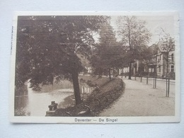 M42 Ansichtkaart Deventer - De Singel 1923 - Deventer