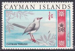 Kaimaninseln Cayman 1970 Tiere Fauna Animals Vögel Birds Oiseaux Pajaro Uccelli Rotaugendrossel, Mi. 261 ** - Kaimaninseln