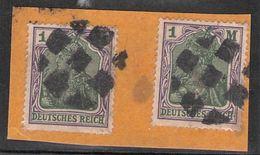 Stummer Stempel Feldpostpäckchen Deutsches Reich - Gebraucht