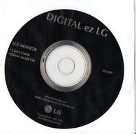 Digital Ez LG  Cd Software L227WT - Technical
