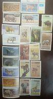 L) 1986 SOUTH WEST AFRICA, ANIMALS, LEOPARDO, ELEFANTE, JIRAFA, RINOCERONTE, LION, ZEBRA, WARTHOG, FELINE, CARACAL - Namibia (1990- ...)