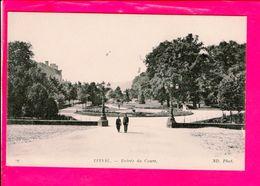 Cpa  Carte Postale Ancienne  - Epinal Entree Du Cours - Epinal