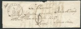 Lac , Romorantin Pour Tours , TAXE 6 Décimes En 1843 ? Lire Commentaire  -  Fab4801 - 1801-1848: Précurseurs XIX