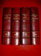 1814 - 1815 Henri Houssaye  1903 En 4 Tomes  / Napoléon. Chute Du Premier Empire . Waterloo .Cent Jours. Restauration - Geschichte