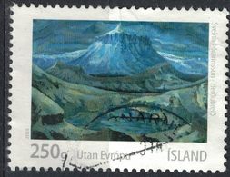Islande 2013 Oblitéré Used Art Islandais Paysage Sveinn Þórarinsson - 1944-... Republique