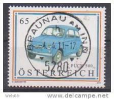 """Österreich 2011: """"Autos"""" Gestempelt - 1945-.... 2. Republik"""