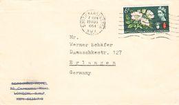 GREAT BRITAIN - LETTER 1964 SOUTH KENSINGTON -> ERLANGEN/GERMANY - 1952-.... (Elizabeth II)