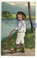 Petit Garçon Et Cerceau. 1910 - Cartes Postales