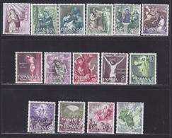 ESPAGNE N° 1134 à 1144, AERIENS N° 290 à 293 ** MNH Neufs Sans Charnière, TB (D6379) Les Quinze Mystères Du Rosaire - 1931-Today: 2nd Rep - ... Juan Carlos I