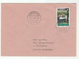 2001 LUXEMBOURG COVER Stamps SCUBA DIVER RESCUE SERVICE Diving - Covers & Documents