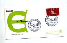 Lettre Cachet  Malzeville Journee Europax - Poststempel (Briefe)