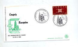 Lettre Cachet  Strasbourg Congres Pharmacien - Poststempel (Briefe)