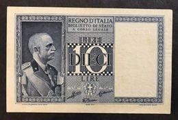 10 LIRE IMPERO 1938 N.C. SUP  LOTTO 461 - Italia – 5 Lire