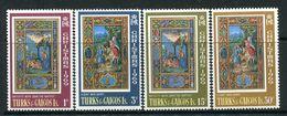 Turks & Caicos Islands 1969 Christmas Set MNH (SG 312-15) - Turks- En Caicoseilanden