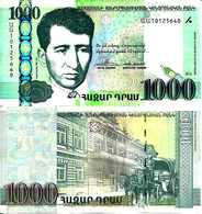 Arménie - Armenia 1000 DRAM 2011 - Pick 55 NEUF-UNC - Arménie