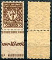 Deutsches Reich Michel-Nr. 203b Mit ZW Postfrisch - Geprüft - Deutschland
