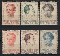 Luxembourg 1939 Caritas, MNH ** Mi 333/338 (Ref: 1418) - Unused Stamps