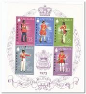 Antigua & Barbuda 1974, Postfris MNH,  Military Uniforms - Antigua En Barbuda (1981-...)