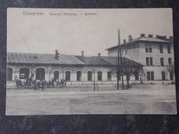 POLSKA POLAND POLOGNE - 1909 OSWIECIEM AUSCHWITZ - Dworzec Kolejowy - Bahnhof - Railway Station - Polen